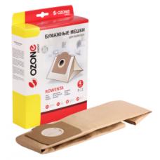 Мешки-пылесборники Ozone бумажные для пылесоса, 4 шт. P-11