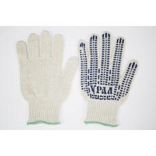 T129 Перчатки Х/Б Белые, Черные
