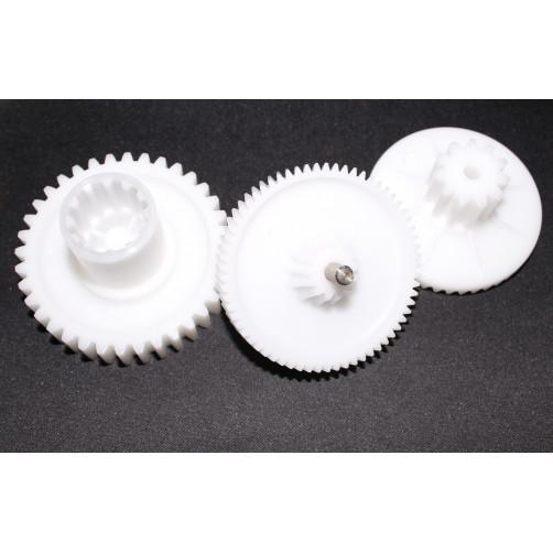Комплект шестеренок для мясорубок Ротор RT003 D65/25+74.5/26+68/25 L34/9+45/16+50/13