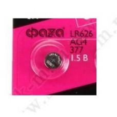 Батарейка AG-4 LR626, LR66, 626A, 377A, CX66W, AG4 Код: T243