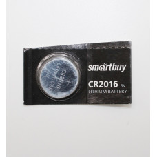 Литиевая батарейка CR 2016 3V Код: T018