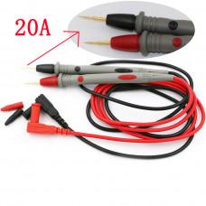 Щуп для мультиметра профессиональный длина 90 см Сопротивление 20 Ампер. Код: T3682