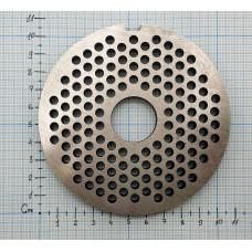 Решетка промышленным мясорубки №2 МИМ-600 (МИМ-500) с буртом 010062