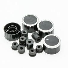 Ручки черные универсальные (4шт) ISL001RK