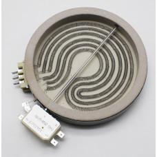 Электрическая конфорка для стеклокерамической плиты  D145mm, 1200W/230V код: 139052 зам. 482000022932, C00139052