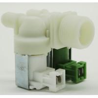 Клапан электромагнитный для стиральной машины - 2Wx180 (клеммы вместе, D-11/13mm, под фишки ELUX.). VAL021ZN