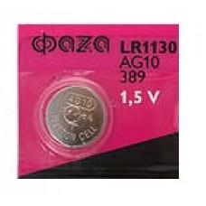 Батарейка AG-10 LR1130, LR54, 389, 189, CR1130W, CR89A, AG10 Код: T235