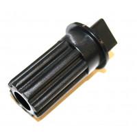 Втулка шнека для мясорубки Braun (черная) BR7002718, BR010, BR4195614, br.7002718, MM0339W