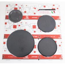 Крышка рассекателя для газовой плиты Electrolux, Zanussi 55605020