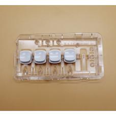 Панель с кнопками для стиральной машины Beko 2867700400
