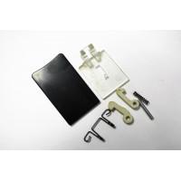 Ручка люка, черная для стиральных машин Ardo/Whirlpool WL084, зам. WL091, WL085, 481949869162